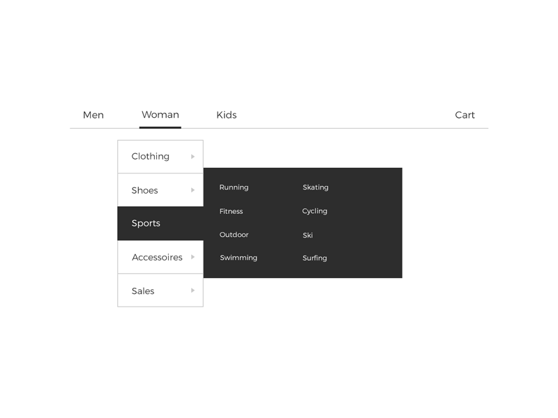 Daily UI #027 Dropdown