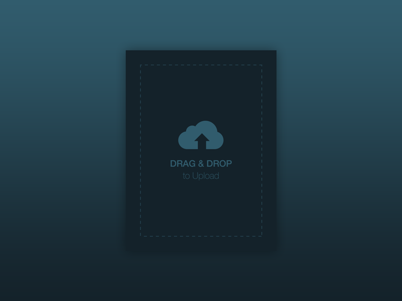 Daily UI #031 File Upload