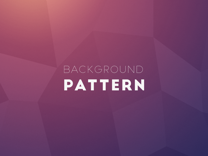 Daily UI #059 Background Pattern